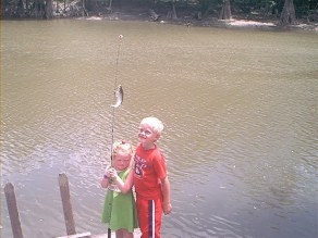 et and tori fishing